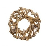 Natural Driftwood Wreath Large
