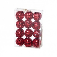 Jingle Bells Red 3 cm