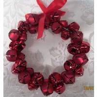 Red Bell Wreath