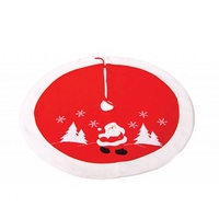 Red White Santa Small Tree Skirt