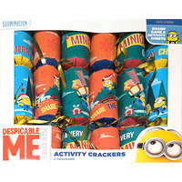 Despicable Me Activity Crackers