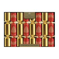 Red And Gold Premium Crackers 8pk