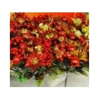17.5 cm Xmas Pick  Red  Green Gold Assorted