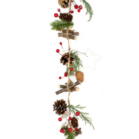 Twig, Pinecone, Spruce And Red Berry 1.9m