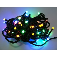 10m Multi-Coloured LED Lights