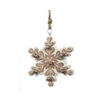 Yosemite Snowflake with Bells Natural