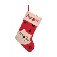 Meow Cat Stocking