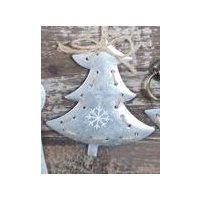 Tin Christmas Tree 11 cm
