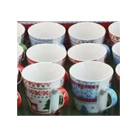 China Christmas Pattern Mugs