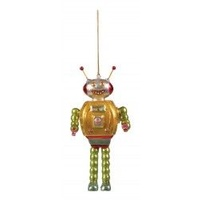 Robot with Oval Head