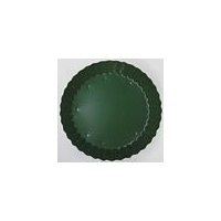 Green Tin Candle Dish