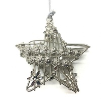 3D Star Hangings Small 7.5 cm