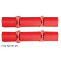 Red Gigham - box of 50