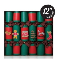 Fill Your Own Red&Green Kraft 6pk