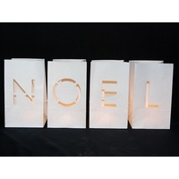 Noel Paper Votive Kit