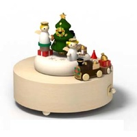 All Aboard  Wooden Music Box