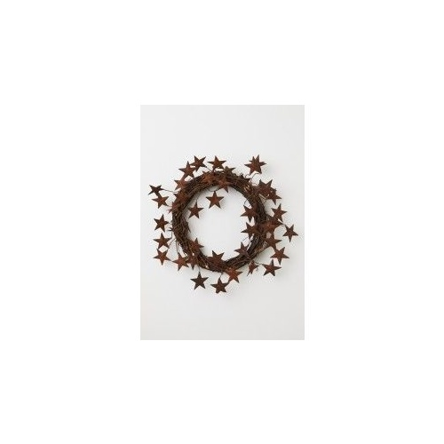 Rustic Star Wreath 27 cm