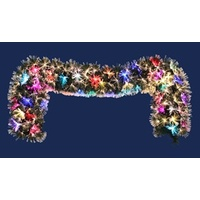 Muliti Colour changing Fibre Optic Garland 200cm