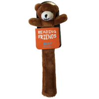 Reading Friend Bear Book Mark