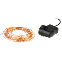 10m Copper 10 0LED AC String Lights