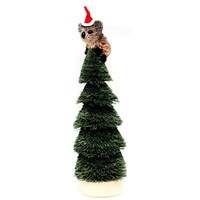 Christmas Tree with Koala Bristle Decoration