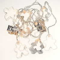 Gingerbread Men LED Garland - Battery - 160CM