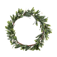 Misletoe Natural Wreath 40cm