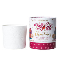 Mulberry Spice Scented Soy Candle
