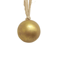 Gold Wooden Ball Small 6cm