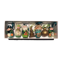 Green Russian XMAS Decoration Set 7 pc
