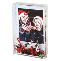 Water filled  Photo Frames  with  Sparkle 5.4 x 8.6 cm