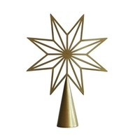 Nordic Gold 8pt Star