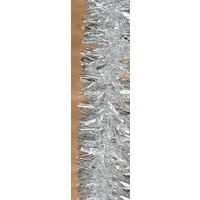 Multi Silver Tinsel 2m