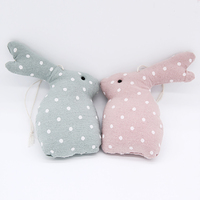Hanging Fabric Easter Rabbits