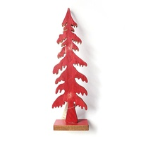 Red Pine Tree Standing 30 cm