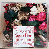 Sugarplum Christmas Pot Pourri 100g box