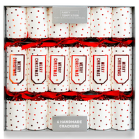 Premium Seasons Greetings Crackers 6pk
