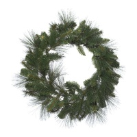 Wild Pine Green Wreath 61cm