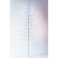 Angel Twinkle Tree  180cm Flat LED Standing Tree Warm Light