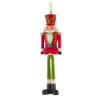 Toy Soldier Hanging 14cm