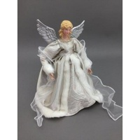 Champagne Angel Tree Topper 30cm