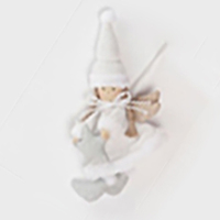 Fairy Angel Doll White Hanging 23CM H