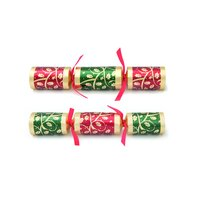 Red and Green Festive Holly - Box of 50
