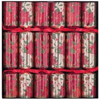 Poinsettia Crackers  6pk