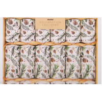 Winter Foliage Gourmet Christmas Crackers