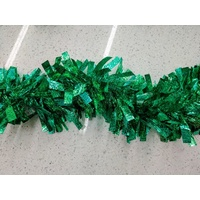Green Wide Tinsel 1.8m