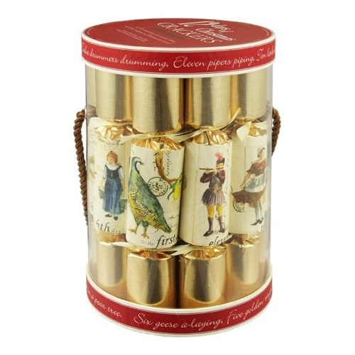 12 Days of Christmas Crackers  12pk Barrel